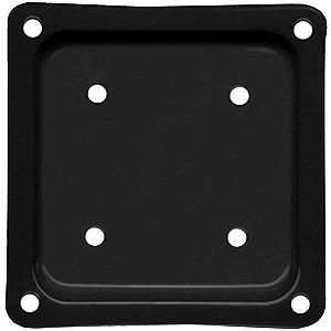 Deck Rail Post Brackets 4x4 BLACK color (box/50)