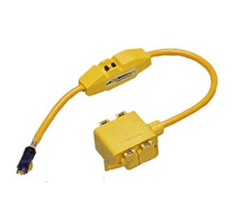 Cep Power Cord 2 Ft In Line Gfci 4 5 15r 1 5 15p Plug