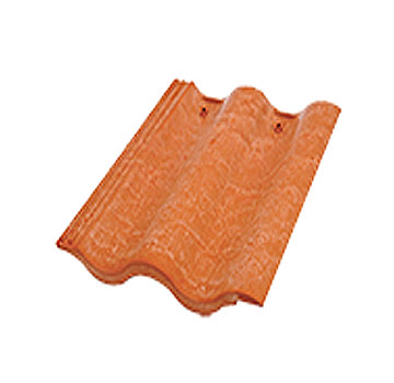 Synthetic Mission Roof Field Tiles Desert Red Terra Cotta 1