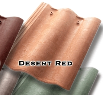 Synthetic Mission Roof FIELD Tiles, DESERT RED (terra cotta) (1) - Quarrix Composite Mission / Spanish Roofing FIELD Tiles, DESERT RED (terra cotta) Color. Price/Tile. (special order item; 1-2 week leadtime; special discount shipping rates for full house orders - email us )