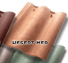 Synthetic Mission Roof FIELD Tiles, DESERT RED (terra cotta) (1)