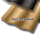 Synthetic Mission Roof FIELD Tiles, GOLDEN ROD color (1)