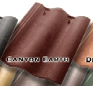 Synthetic Mission Roof FIELD Tiles, CANYON EARTH color (1)