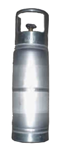 6 Lb Lightweight Alumumum Refillable Propane Tank - 6 LB LIGHTWEIGHT ALUMUMUM REFILLABLE PROPANE TANK. PRICE/EACH.