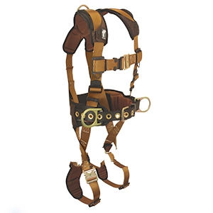 Comfortech Full Body Harness, LX Size - Full Body Harness, Falltech ComforTech, Construction-style, premium-grade full body harness with back and side D-rings for fall arrest and positioning. LX SIZE. Price/Each.