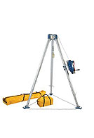 Confined Space Tripod Kit (7275 Tripod, 7285S Steel 3-Way SRL)