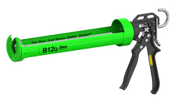 Albion # B12Q 1-Quart Cart. 12:1 Caulk Gun - Albion #B12Q 1-Quart Cartridge Caulking Gun with 12:1 Thrust, All Metal Carriage. Price/Each.