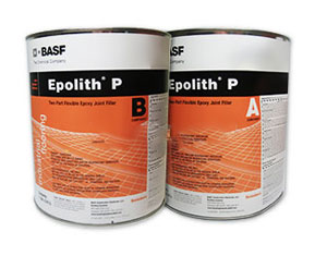 MasterSeal CR 190 (Epolith P) Epoxy Control Joint Filler Kit (1.5G) - MasterSeal CR 190 Control Joint Filler / Crack Filler (formerly called Sonneborn EPOLITH-P). A Pourable-Grade Self-Leveling 100% Solids 2-Part Flexible Epoxy. Gray color. 1.5 Gallon Kit. Price/Kit. (see special order; see detail view notes)