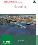 BASF Grouting Products Catalog