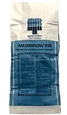 Masterflow 928 Grout, Hydraulic Cement-based Mineral-aggregate Grout (55lb) - Masterflow® 928 Grout, Hydraulic Cement-based Mineral-aggregate Grout with  Extended Working Time. NSF 61 Potable Water Certified. 55 Lb/Bag. Price/Bag.