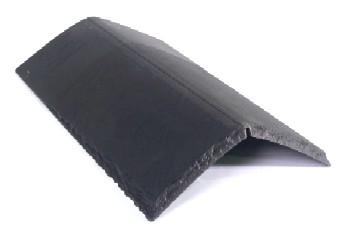 Bellaforte Synthetic Slate Roof HIP/RIDGE Tiles (10) - Bellaforte Synthetic Slate Roof HIP/RIDGE Tile pieces, 10 Pieces/Bundle. Price/Bundle. (color matched to FIELD tiles; leadtime 3-4 weeks; 20% restock fee; less than 12 bundles not returnable)