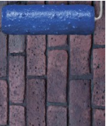 Old Chicago Brick Texture Roller Sleeve for Concrete, 9 inch