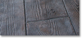 Wood Plank Pattern Concrete Stamp 12 In X 16 Inch Rigid
