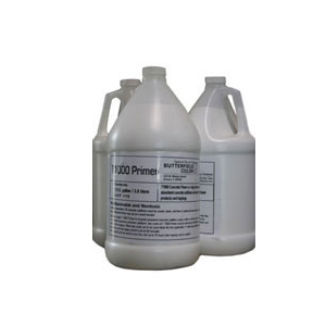 Concrete Adhesion Promoter Primer, for Overlays, 1 Gallon. - T1000 Concrete Adhesion Promoter / Primer, for Concrete Stamping. Used as a bonding agent with T1000 Overlay. 1 gallon Bottle. Price/Bottle. (aka Butterfield T-1000 Primer; special order, 1-2 week shipping leadtime)