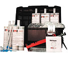 Concrete Wall Crack Urethane Injection Repair, Contractors Kit, 30-Foot