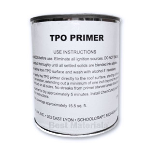 Chem Link TPO / Sealant Primer, Low VOC, 1-Pint (ground ship only) - Chem Link # F1280LVOC TPO / Sealant Primer. General Purpose Primer for use with Chem Link Sealants such as M1, Duralink, Novalink and other Polyether Sealants. Low VOC Meets Cal. Prop 65. 1-Pint Can. Price/Can. (flammable; UPS ground shipment only)