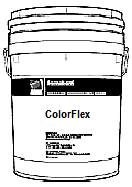 Colorflex, Color Tinted Exterior Paint (5G) - ColorFlex Elastomeric Exterior Paint, FACTORY COLOR TINTED Color. 5G/Pail. Price/Pail. (SPECIFY TEXTURE AND COLOR NAME/# BEFORE ADDING TO CART; MIN ORDER 5 PAILS; SHIPPING LEADTIME 5-8 BUSINESS DAYS; SPECIAL SHIPPING RATES AVAILABLE)
