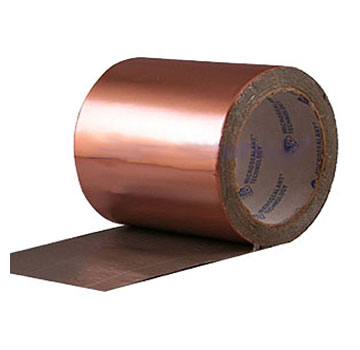EternaBond CopperFlash Copper Repair Tape, 4 in. X 25 ft. Roll - EternaBond CopperFlash Copper Faced Peel/Stick Tape. Repairs leaks in copper gutters, cupolas, bay windows, etc. 4-inch wide x 25