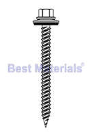 #9 X 1-1/2  Stainless HWH Alum. Panel Screw w/ NEO, 250