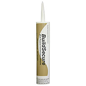 BuildSecure Bonding Adhesive,  10.1 oz Tubes (case/24) - BuildSecure High-Strength Construction & Subfloor Adhesive from ChemLink. High-performance, solvent free, 100% solids polyether adhesive, tan color, 10.1 oz tubes. 24 Tubes/Case. Price/Case. (shipping leadtime 2 days)
