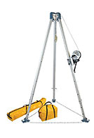Confined Space Tripod Kit (7275 Tripod, 7295 Winch, 7280/7282 Bags)