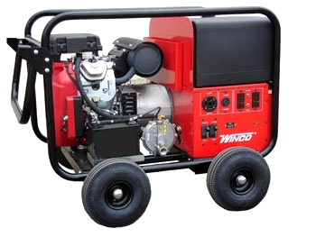 Winco HPS12000HE Watt Generator, Tri Fuel Powered   Winco HPS12000HE 12000  Watt Tri