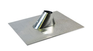 1-1/2 in., Galv. IP Jack / Cone Pipe Flashing, 11x13 Base - 1-1/2 inch GALVANIZED ADJUSTABLE ROOF PIPE FLASHING (IP JACK), 11x13 BASE FOR SHINGLE ROOFS. FITS FLAT TO 5/12 PITCH. PRICE/EACH.