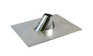 1-1/2 in., Galv. IP Jack / Cone Pipe Flashing, 11x13 Base