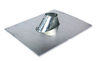 2 in. Galvanized IP Jack, Roof Pipe Flashing - 2 inch Adjustable Roof Pipe Flashing (IP Jack), 26 Gauge Galvanized Steel. 11 x 13 inch Base. Fits Flat to 6/12 Pitch Roofs. Price/Each.