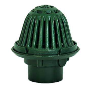 Josam 22080 9 In Cast Iron Roof Drain With Beehive Dome