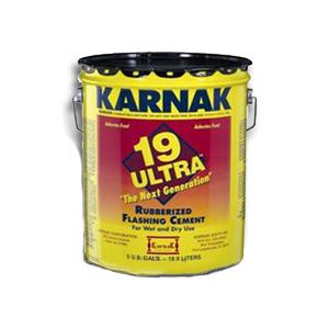 Karnak #19 Ultra Wet/Dry Rubberized Flashing Cement (3G)