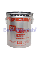 Karnak #27AF Perfectseal Fibered Aluminum Roof Coating (5G)