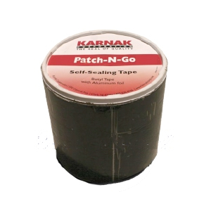 "Karnak #550W Patch-N-Go 4"" Wide WHITE Color Flashing Tape (8 Rolls) - Karnak #550W WHITE Color Patch-N-Go, 4"" x 65.5"