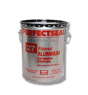 Karnak #27AF Perfectseal Fibered Aluminum Roof Coating (5G) - Karnak #27AF Perfectseal Fibered Aluminum Roof Coating, ASTM D-2824 Type III. 5-Gallons/Pail. Price/Pail. (42 pails/pallet)
