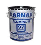 Karnak #97AF Fibered Aluminum Roof Coating, (5G)
