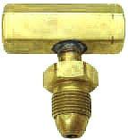 Propane Tank P.O.L. T-Block - PROPANE TANK P.O.L. T-BLOCK (3-WAY). ALL BRASS POL T-BLOCK CAN BE USED TO ATTACH TWO POL INPUT FITTINGS TO ONE POL TANK. NO EXCESS FLOW VALVE. PRICE/EACH.