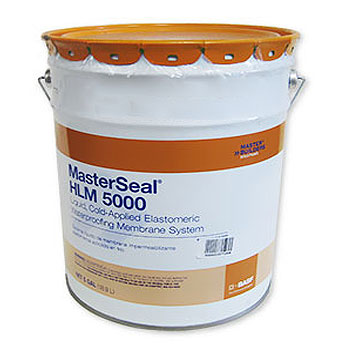 MasterSeal HLM 5000 SELF LEVELING Grade Waterproofing (5G) - MasterSeal HLM 5000 (formerly Sonoshield HLM5000) SELF LEVELING Grade  Waterproofing. 5-Gallon Pail. Price/Pail. (Special order; 1-week leadtime; 36 pails/pallet; Ground Shipment Only)