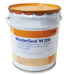 MasterSeal M 200 (Sonoguard) Self-Leveling Waterproofing Base Coat, 5G