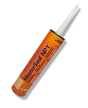 MasterSeal NP1 Caulking Sealant, STONE, 10.1 oz. - MasterSeal NP1 (formerly Sonolastic NP1) One-Part Polyurethane Caulking Sealant, STONE Color, 10.1 oz / 300mL Tube. Price/Tube.