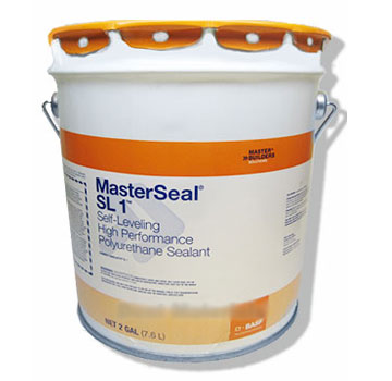 SL1 Sealant, Self Leveling, LIMESTONE color (5G) - SL1 Polyurethane Self-Leveling Expansion Joint Sealant. LIMESTONE Color. 5-Gallon Pail with Pour Spout. Price/Pail. (see detail view for ordering notes)