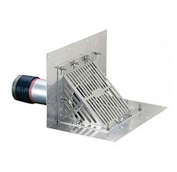 Retrofit Thru Wall Scupper Drain Aluminum