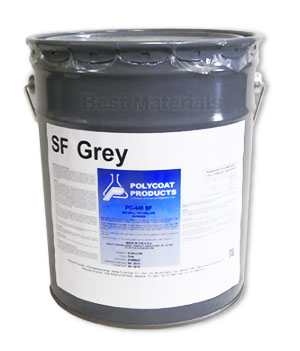 Polycoat PC-440SF Solvent Free Base Coat, GRAY Color  (5G) - POLYCOAT PC-440SF WATERPROOFING BASE COAT, SOLVENT FREE, GRAY COLOR. 5 GALLON/PAIL. PRICE/PAIL.