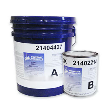 Polycoat PC-260 Accelerated Cure Base Coat, GRAY (5G) - POLYCOAT PC-260 WATERPROOFING BASE COAT KIT. GRAY COLOR, 2-PART ACCELERATED SYSTEM. PART A & B GRAY BASE COAT, 4 GAL A + 1 GAL B. PRICE/KIT. (UPS Ground shipping only)