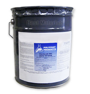 Polyglaze 400 Top Coat, 340 VOC, CLEAR (5G) - Polycoat Polyglaze 400 CLEAR Top Coat. 5-Gallon Can. Price/Can. (340 VOC, not shippable to S. Calif or other VOC restricted areas)