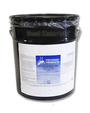 Polycoat Aquaseal 5000 Waterproofing Membrane, Vertical Grade - Polycoat Aquaseal 5000 Waterproofing Membrane, Liquid Applied, Vertical / Roller Grade. 5-Gallon Pail. Price/Pail.
