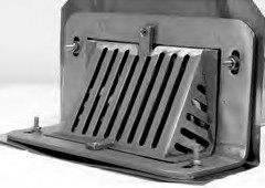 nickel bronze grate for RD 27 drain