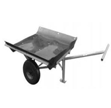 Roofmaster T-Handle Dump Cart W/no-Flat Tires - Roofmaster T-Handle Materials Cart w/No-Flat-Lite Tires and Dump Tray. Price/Each.