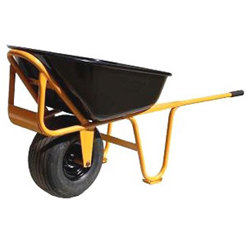 Long Handle Steel Wheelbarrow w/ 1 No-Flat-Lite Tire - Roofmaster Long Handle Steel Wheelbarrow with One 18x8.50 Non-Flat-Lite Tire. Price/Each. (special order terms apply; use FreightQuote LTL Shipping)