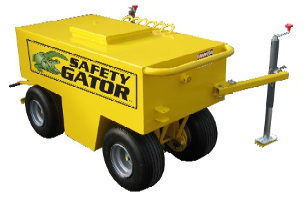 Safety Gator Mobile Fall Protection System - SAFETY GATOR Steep Slope / Residential Mobile Fall Protection System for up to 6 workers. Price/System. (use FreightQuote shipping; shipping leadtime 2-4 weeks)
