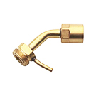 Sievert #3511, 3 Inch Brass Turboroofer Neck Tube